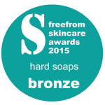 FreeFrom Skincare Awards 2016 Hard Soaps Bronze Winner