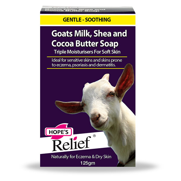 Hope's Relief Eczema Psoriasis Goat's Milk Soap with Shea and Cocoa Butter