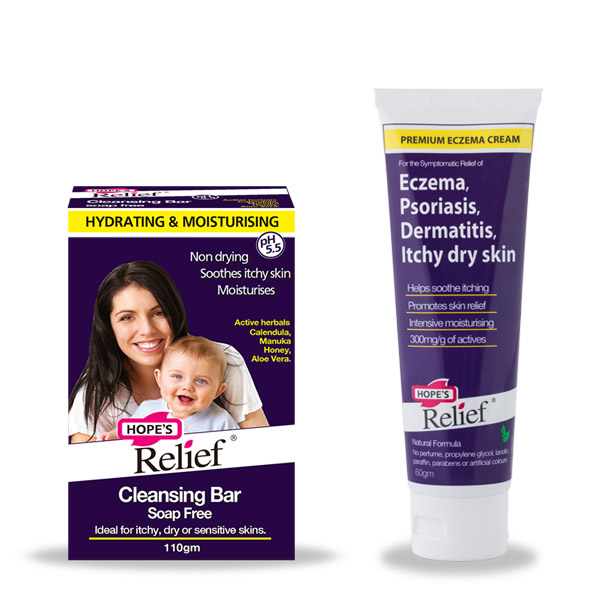 Hope's Relief Eczema Psoriasis twin pack