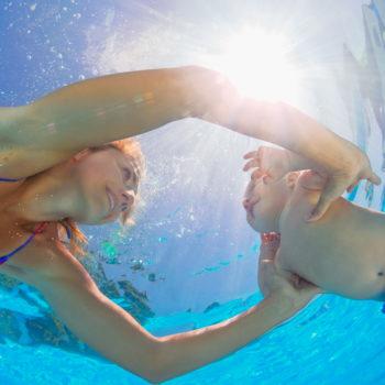 Baby Swimming to help eczema